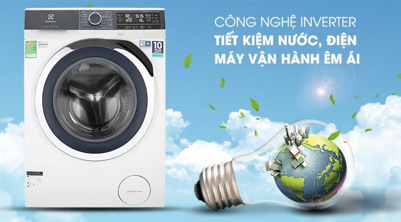 Công nghệ Inverter - Máy giặt Electrolux Inverter 9.5 kg EWF9523BDWA